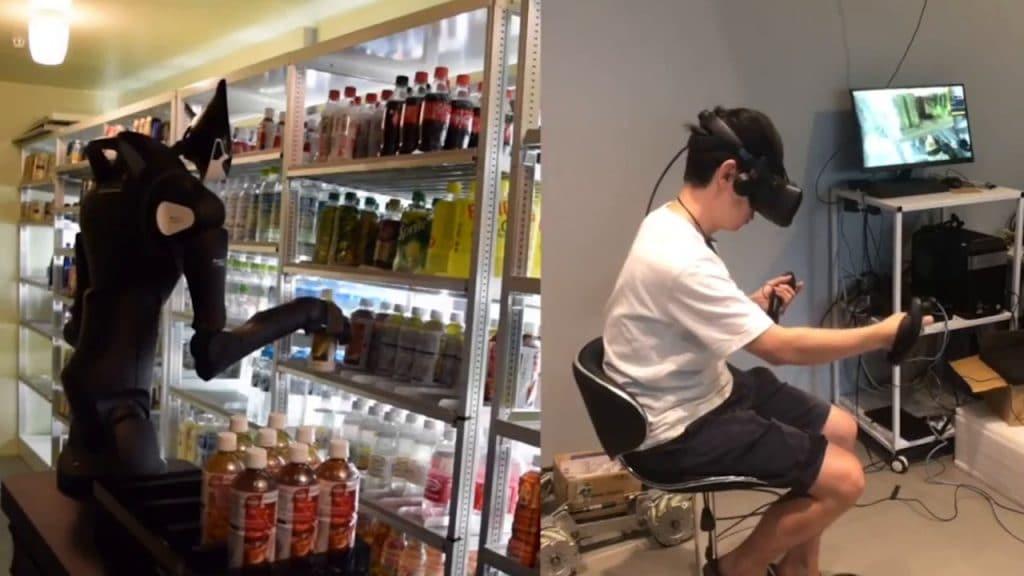 Seven-foot robot workers in Tokyo convenience stores