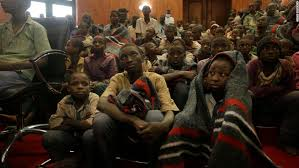Kidnapped Nigerian schoolboys are back to their families