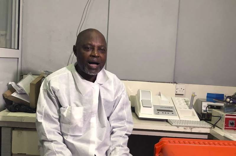 Nigerian scientist is sequencing new COVID strain as cases surge