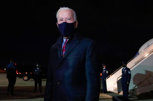 "Donald Trump too ""eratic"" and should not get US intel briefings, Joe Biden says"