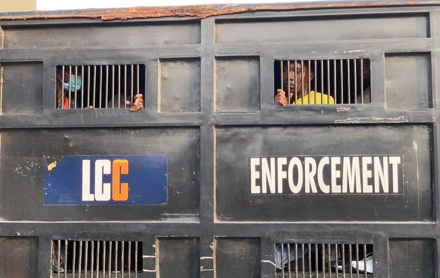 #EndSARS: Nigerian police beat, arrest protesters at site of Lekki shooting