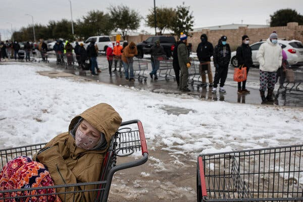 Why the freak cold weather and power outage in Texas?