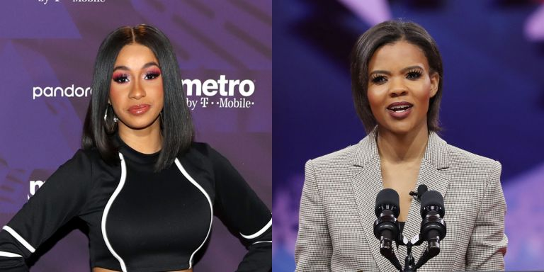 Cardi B and Candace Owens epic Twitter feud
