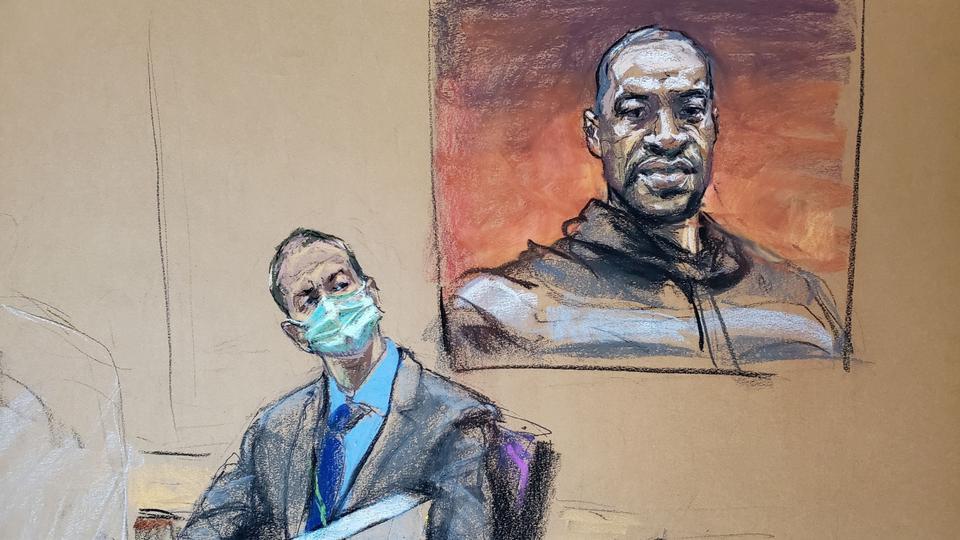 George Floyd Former Police Officer Derek Chauvin Court Trial