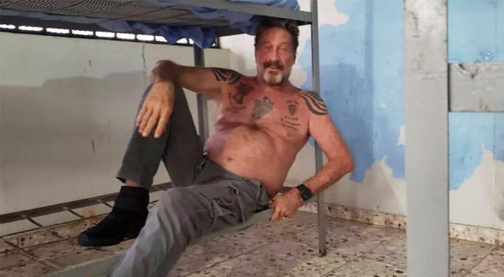 John McAfee Software mogul found dead in Spanish Jail