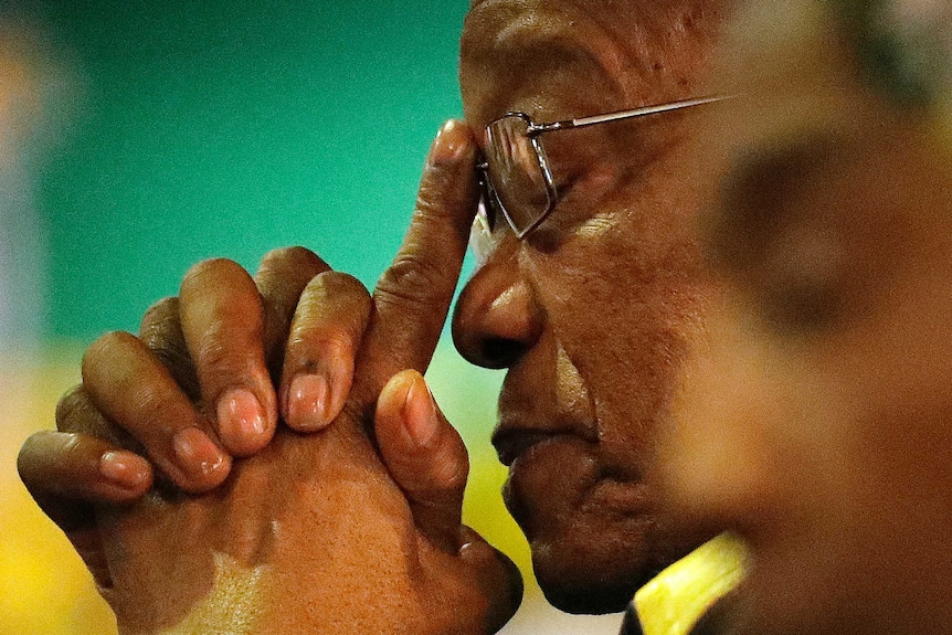 Jacob Zuma from freedom fighter to president to jail