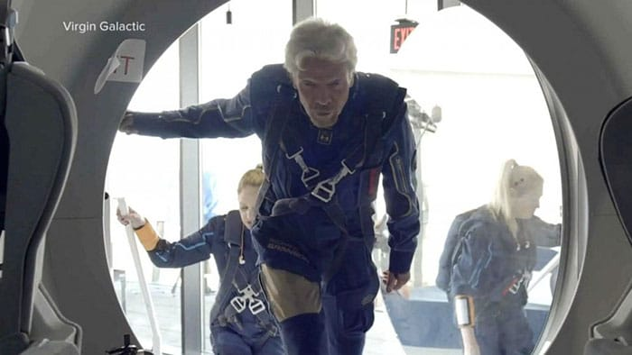 Richard Branson's Virgin Galactic flight ushers in era of Space Tourism