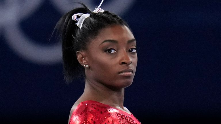 Tokyo Olympics: Simone Biles withdraws from individual all-around final