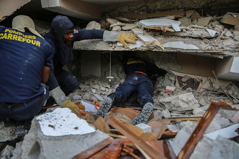 Haiti devastated after earthquake with more than 2,000 dead