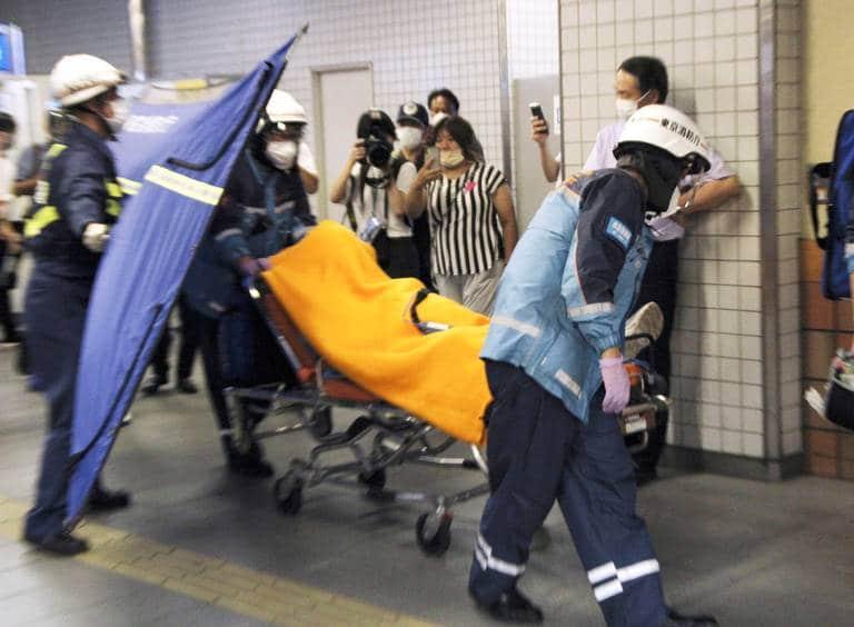 Stabbing on Tokyo train: At least 10 people injured